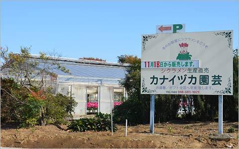 カナイヅカ園芸の風景1